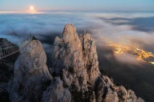 Гора Ай Петри с самой высокой точки