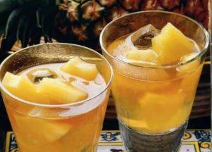 Кубинский способ приготовления чая - с ромом и ананасом