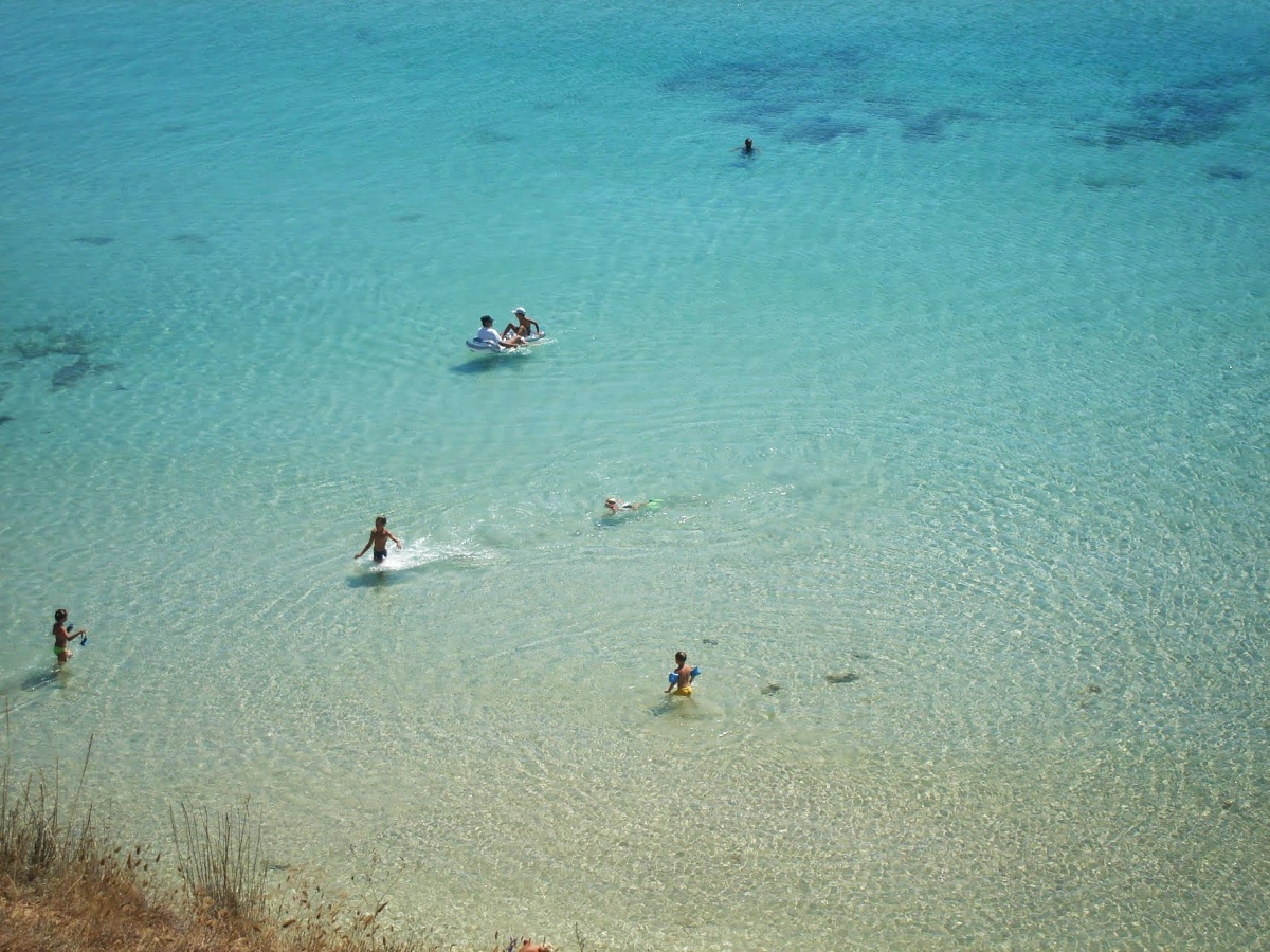 Оленевка - чистейшие пляжи и кристальная вода