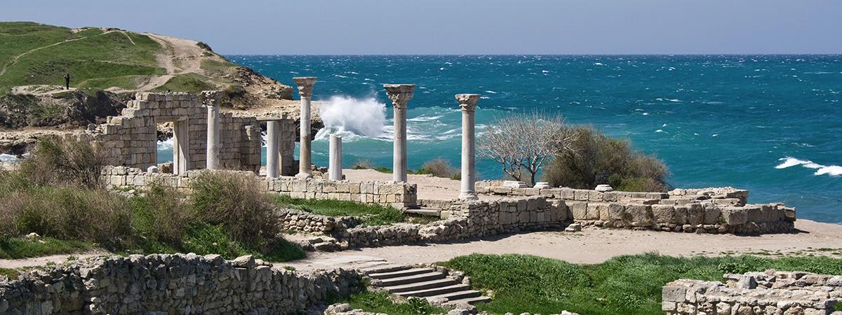 Руины древнего Херсонеса в Севастополе