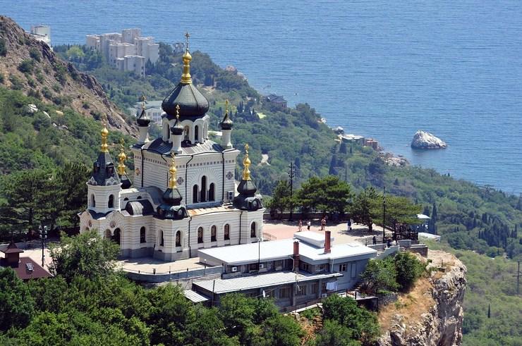 Церковь Воскресения Христова Форос