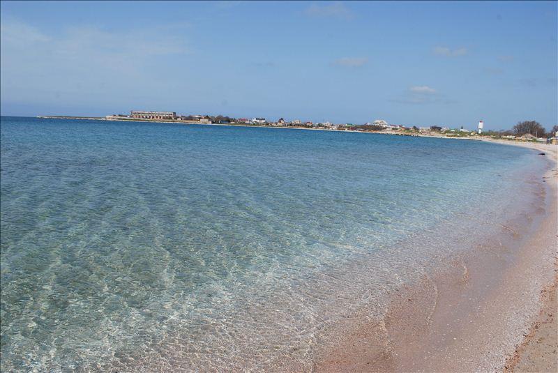 Черноморское с кристально чистой водой