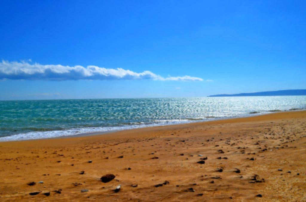 Пляжи Феодосии - отличное место для отдыха с детьми