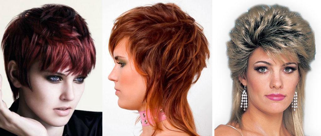 Женская стрижка Гаврош на короткие волосы