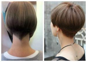 каре на короткие волосы фото