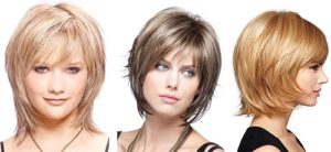 лесенка на короткие волосы