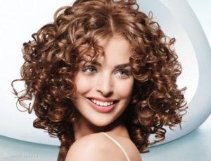 кислотная завивка волос