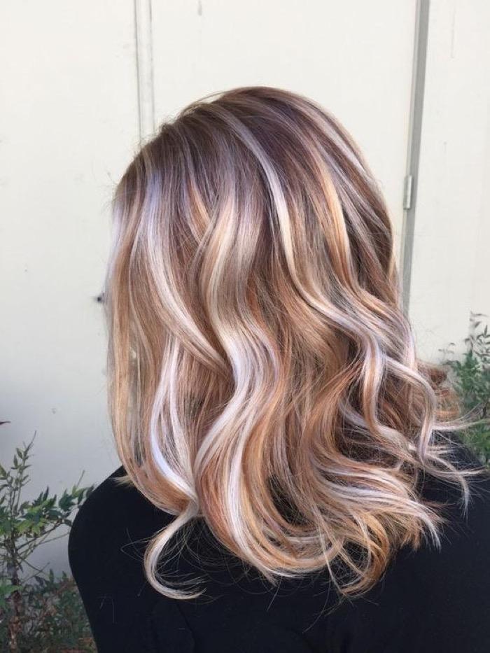 мелирование волос фото