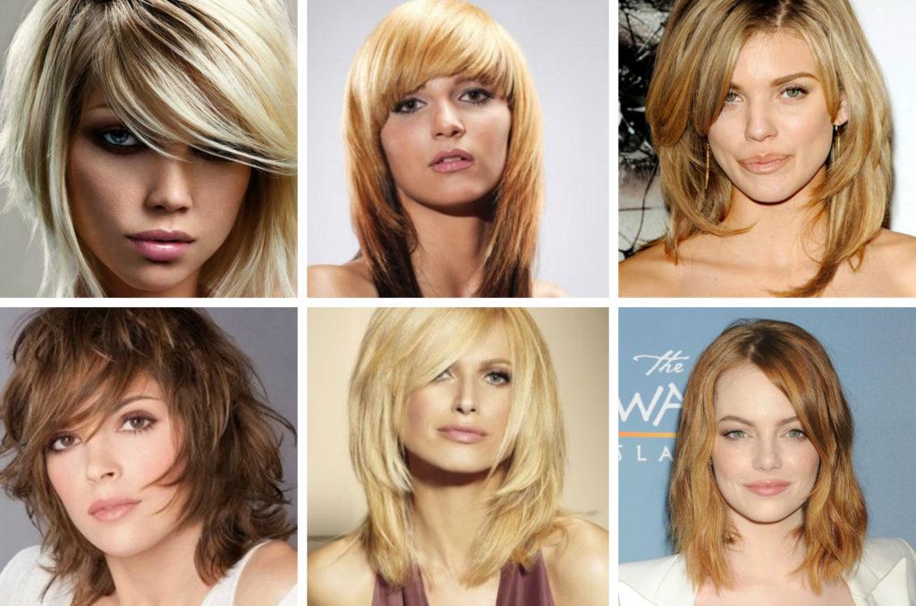 многослойные стрижки для тонких волос