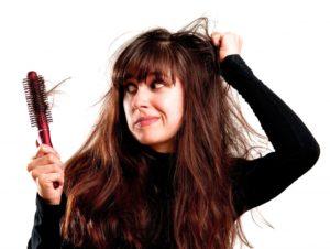 причины ослабевания волос