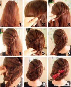 переплетение кос