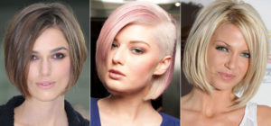 стрижка каре для тонких волос фото