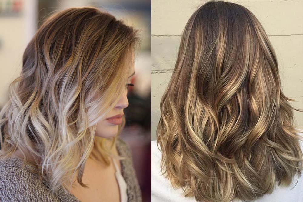 техника окрашивания волос - брондирование
