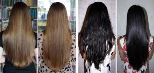 иллюминирование волос (элюминирование)