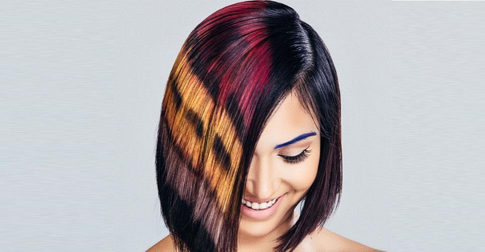 метод пиксельной окраски волос