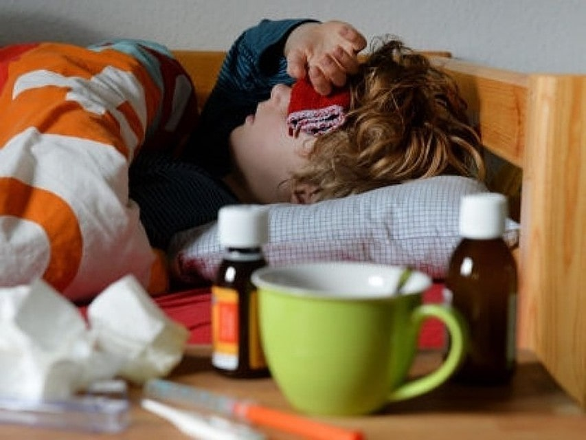 Постельный режим при гриппе